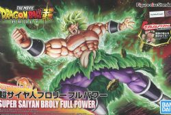 DRAGON BALL -  STANDARD MODÈLE À COLLER DE SUPER SAIYAN BROLY