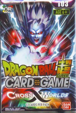 DRAGON BALL SUPER -  CROSS WORLDS PAQUET RECHARGE (P12/B24)
