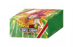 DRAGON BALL SUPER -  GIFT BOX (6P12 + 1 LIMITED BATTLE CARD) -  BATTLE OF GODS GE02