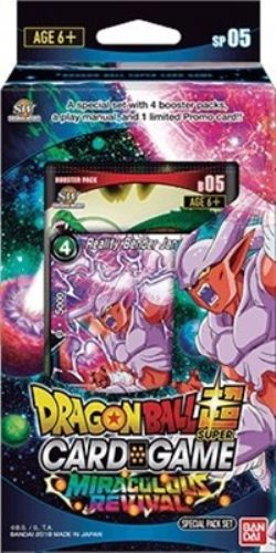 DRAGON BALL SUPER -  MIRACULOUS REVIVAL SPECIAL PACK -  SHENRON WISHES SP05