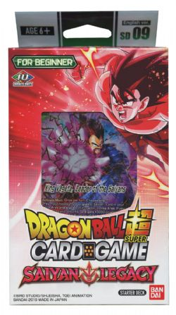 DRAGON BALL SUPER -  SAIYAN LEGACY PAQUET DE DEPART SD 06 (P50 + 1)