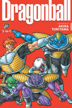 DRAGON BALL -  VOLUMES 22-24 (ENGLISH V.) -  3-IN-1 08
