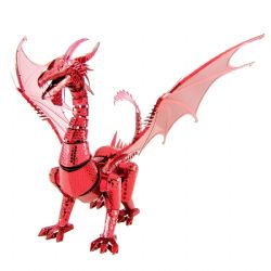 DRAGON -  RED DRAGON - 3 FEUILLES