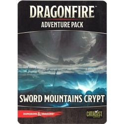 DRAGONFIRE -  SWORD MOUNTAINS CRYPT - ADVENTURE PACK (ANGLAIS)