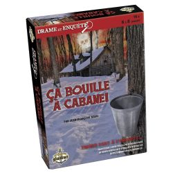 DRAME ET ENQUÊTE -  ÇA BOUILLE À LA CABANE (FRANÇAIS)