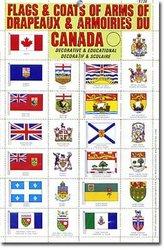 DRAPEAUX ET ARMOIRIES DU CANADA