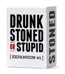 DRUNK STONED OR STUPID -  EXPANSION #1 (ANGLAIS)