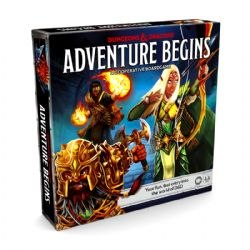 DUNGEON AND DRAGONS : ADVENTURE BEGINS (ANGLAIS)