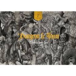 DUNGEON & TOWN -  CHARACTERS PACK (ANGLAIS)
