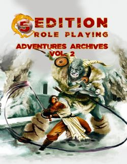 DUNGEONS & DRAGONS 5 -  ADVENTURES ARCHIVES - VOL. 2 (ANGLAIS) -  5EME EDITION