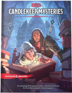 DUNGEONS & DRAGONS 5 -  CANDLEKEEP MYSTERIES (ANGLAIS) -  D&D 5TH : ADVENTURES