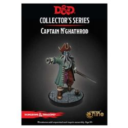 DUNGEONS & DRAGONS 5 -  CAPTAIN N'GHATHROD -  COLLECTOR'S SERIES