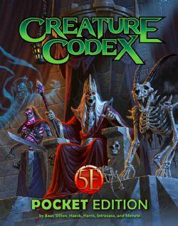 DUNGEONS & DRAGONS 5 -  CREATURE CODEX POCKET EDITION (ANGLAIS)