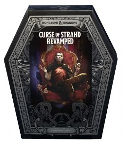 DUNGEONS & DRAGONS 5 -  CURSE OF STRAHD REVAMPED (ANGLAIS)