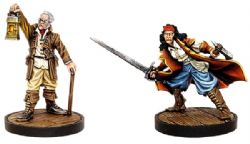 DUNGEONS & DRAGONS 5 -  CURSE OF STRAHD - RUDOLPH AND EZMERELDA -  COLLECTOR'S SERIES