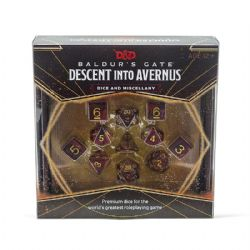 DUNGEONS & DRAGONS 5 -  DESCENT INTO AVERNUS DICE AND MISCELLANY