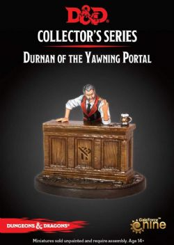 DUNGEONS & DRAGONS 5 -  DURNAN OF THE YAWNING PORTAL -  COLLECTOR'S SERIES