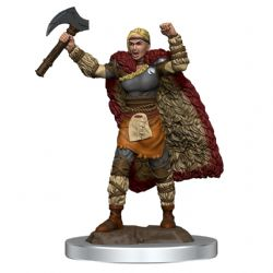 DUNGEONS & DRAGONS 5 -  FEMALE HUMAN BARBARIAN -  ICONS OF THE REALMS
