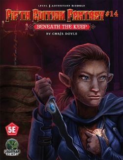 DUNGEONS & DRAGONS 5 -  FIFTH EDITION FANTASY - BENEATH THE KEEP (ANGLAIS) 8