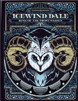 DUNGEONS & DRAGONS 5 -  ICEWIND DALE : RIME OF THE FROSTMAIDEN - COUVERTURE ALTERNATIVE (ANGLAIS)
