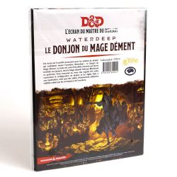 DUNGEONS & DRAGONS 5 -  LE DONJON DU MAGE DÉMENT - L'ÉCRAN DU MAÎTRE DE JEU