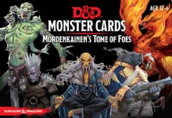 DUNGEONS & DRAGONS 5 -  MONSTER CARDS : MORDENKAINEN'S TOME OF FOES (ANGLAIS)