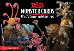 DUNGEONS & DRAGONS 5 -  MONSTER CARDS : VOLOS GUIDE TO MONSTERS (ANGLAIS)