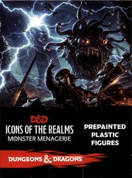 DUNGEONS & DRAGONS 5 -  MONSTER MENAGERIE BOOSTER 1 -  DND ICONS