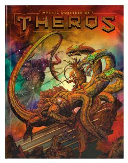 DUNGEONS & DRAGONS 5 -  MYTHIC ODYSSEYS OF THEROS -  ALTERNATE COVER