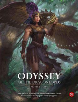 DUNGEONS & DRAGONS 5 -  PLAYER'S GUIDE (ANGLAIS) -  ODYSSEY OF THE DRAGONLORDS