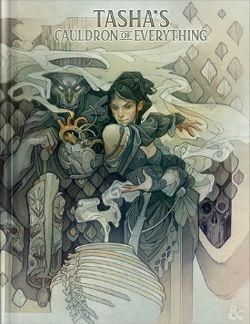 DUNGEONS & DRAGONS 5 -  TASHA'S CAULDRON OF EVERYTHING - COUVERTURE ALTERNATIVE (ANGLAIS)