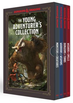 DUNGEONS & DRAGONS 5 -  THE YOUNG ADVENTURER'S GUIDE COLLECTION (ANGLAIS) -  YOUNG ADVENTURER'S GUIDE, A
