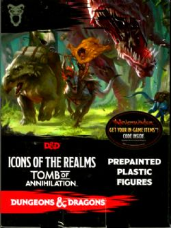 DUNGEONS & DRAGONS 5 -  TOMB OF ANNIHILATION - ICONS OF THE REALM MINIATURES