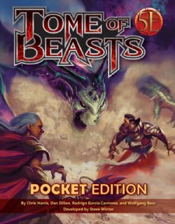 DUNGEONS & DRAGONS 5 -  TOME OF BEASTS 2 (ÉDITION DE POCHE) (ANGLAIS)