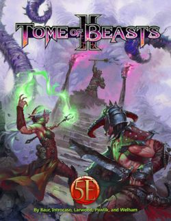 DUNGEONS & DRAGONS 5 -  TOME OF BEASTS 2 HC