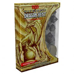 DUNGEONS & DRAGONS 5 -  WATERDEEP - DÉS DRAGON HEIST