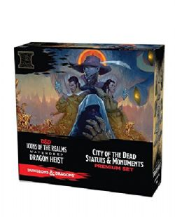 DUNGEONS & DRAGONS 5 -  WATERDEEP DRAGON HEIST - CITY OF DEAD STATUES & MONUMENTS - PREMIUM SET -  ICONS OF THE REALMS