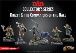 DUNGEONS & DRAGONS -  DRIZZT AND GUENHWYVAR -  LEGEND OF DRIZZT