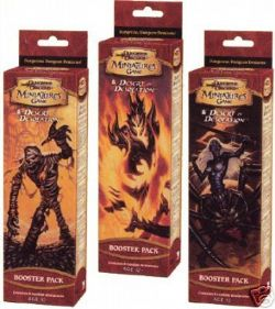 DUNGEONS & DRAGONS MINIATURES -  DESERT OF DESOLATION BOOSTER PACK