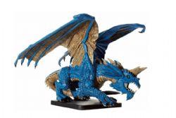 DUNGEONS & DRAGONS MINIATURES -  GARGANTUAN BLUE DRAGON - USAGÉ