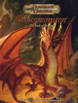 DUNGEONS & DRAGONS -  USAGÉ - DRACONOMICON - THE BOOK OF DRAGONS