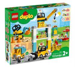 DUPLO -  LA GRUE ET LES ENGINS DE CONSTRUCTION (123 PIÈCES) 10933