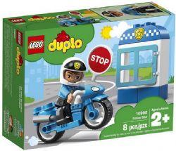 DUPLO -  LA MOTO DE POLICE (8 PIÈCES) 10900