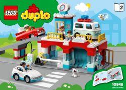 DUPLO -  LE GARAGE ET LA STATION DE LAVAGE (112 PIÈCES) 10948
