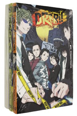 DURARARA!! -  LIGHT NOVEL USAGES TOME 01 À 03 (V.A)