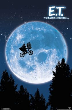 E.T L'EXTRATERRESTRE -  AFFICHE