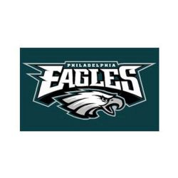 EAGLES DE PHILADELPHIE -  DRAPEAU HORIZONTAL 3' X 5'
