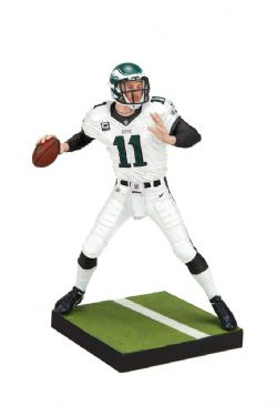 EAGLES DE PHILADELPHIE -  FIGURINE DE CARSON WENTZ #11 (15 CM) -  MADDEN NFL 19 ULTIMATE TEAM SERIES