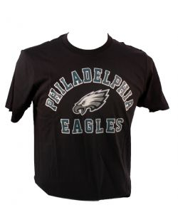 EAGLES DE PHILADELPHIE -  T-SHIRT - NOIR