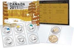 ENSEMBLES HORS-CIRCULATION -  ENSEMBLE HORS-CIRCULATION 2011 - PARCS CANADA -  PIÈCES DU CANADA 2011 72